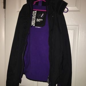 Superdry Jackets & Coats - Women's XSmall super dry fleece lined jacket